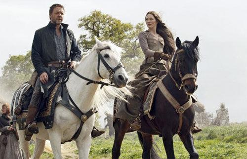 Russell Crowe & Cate Blanchett Robin Hood