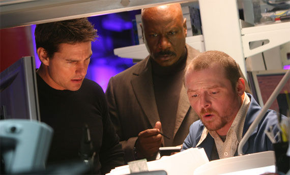 cruise rhames pegg mission impossible 3 Ving Rhames Might Not Appear in Mission: Impossible 4