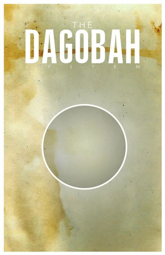 dagobah travel poster 570x880 SR Pick: Cool Minimalist Star Wars Travel Posters
