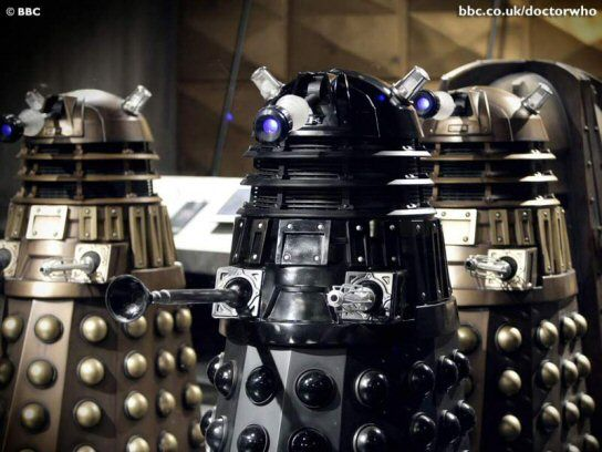 daleks The New Doctor Who vs. The Daleks
