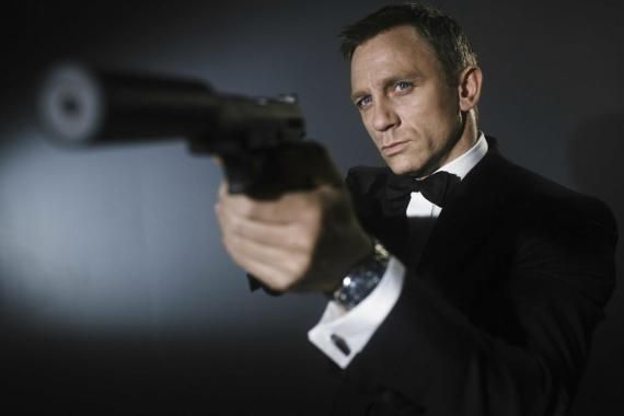 daniel craig james bond Daniel Craig Says Bond 23 To Start Shooting Late 2010