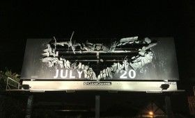 dark knight rises billboard 280x170 Dark Knight Rises Features 100 Minutes of Action; New Billboard Promo