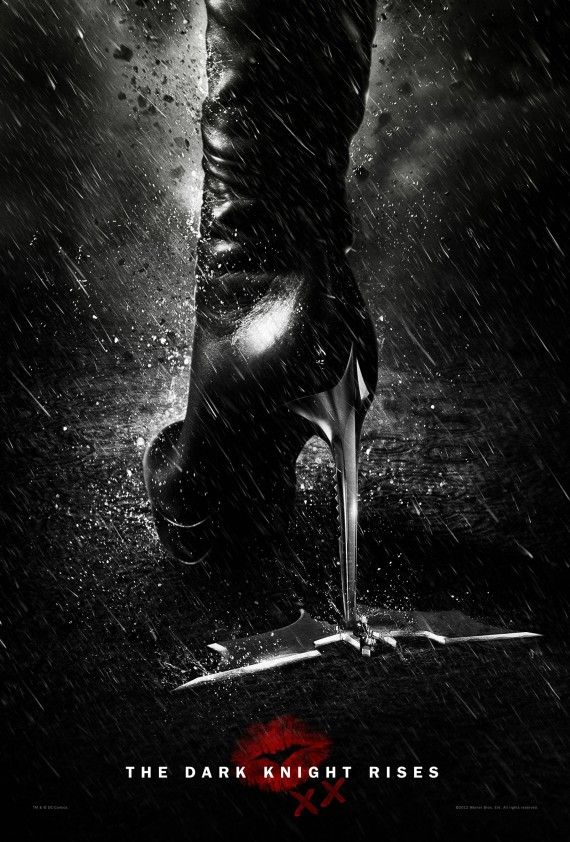dark knight rises secret catwoman poster 570x842 Secret Catwoman Poster for The Dark Knight Rises
