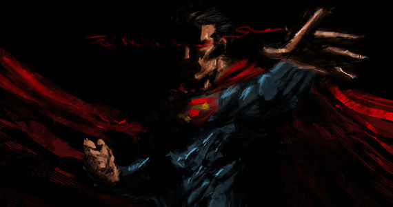 dark superman by eliaskhasho d338bj9 Man of Steel Ending Controversy & The Superman II Hypocrisy