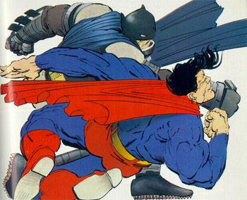 dark knight returns batman superman