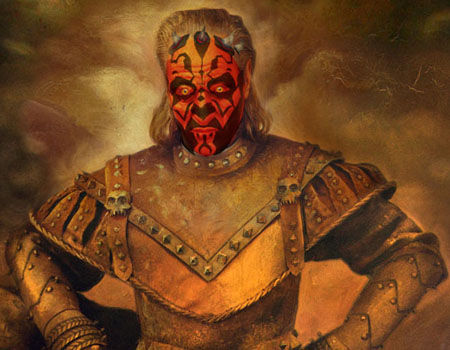 Darth Maul - Ghostbusters 2