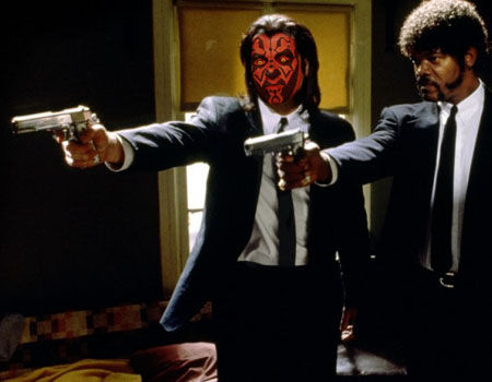 Darth Maul - Pulp Fiction