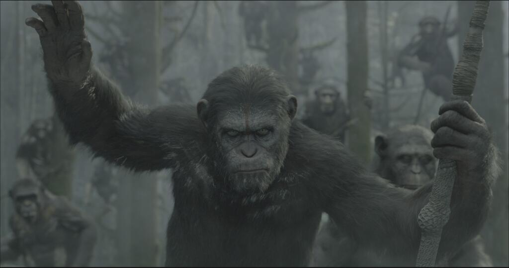 First 'Dawn of the Planet of the Apes' Image: Hail King Caesar