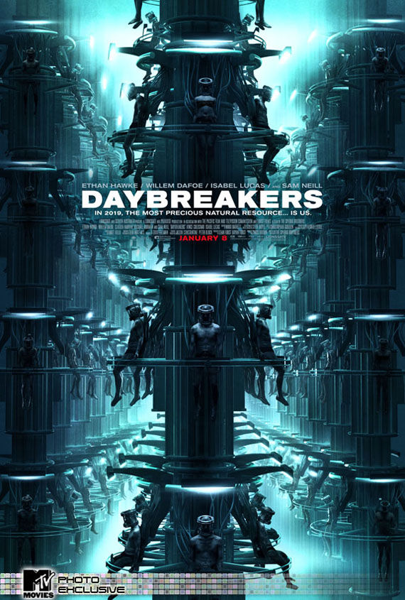 daybreakers poster1 Poster Friday: Saw 6, Legion, Daybreakers, Parnassus & More!