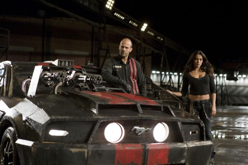death race production still Death Race Review
