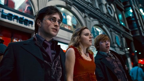 deathly hallows trio Harry Potter and the Deathly Hallows: Part 1 Review