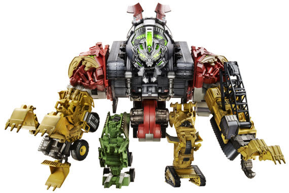 devastator  robot  Nearly Every Transformers 2 Robot Revealed!