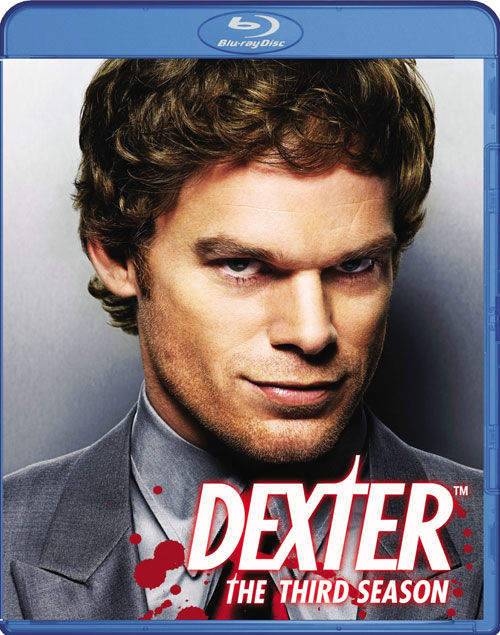 dexter season 3 blu ray cover 2 Dexter Season 3 Blu ray