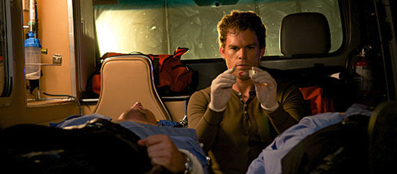 dexter season 6 premiere dexter ambulance Dexter Season 6 Premiere Review & Discussion