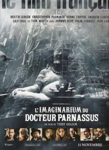 doctor parnassus poster Screen Rants 2009 Fall Movie Preview