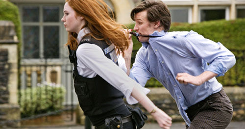 doctor who eleventh hour pond angry Doctor Who Companions Get Pond Life Online Miniseries Ahead of Season 7