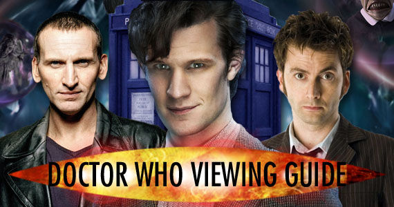 doctor who episode viewing guide Doctor Who Viewing Guide: Tips, Suggestions & Complete Episode List