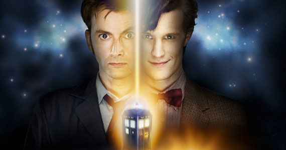doctor who matt smith david tennant Doctor Who 50th Anniversary Special Trailer Description