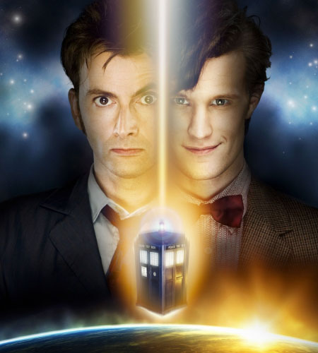 doctor-who-matt-smith-david-tennant