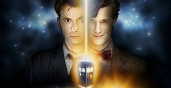 doctor who more smith tennant 570x294 Matt Smith & David Tennant Could Have Shot More Doctor Who Together