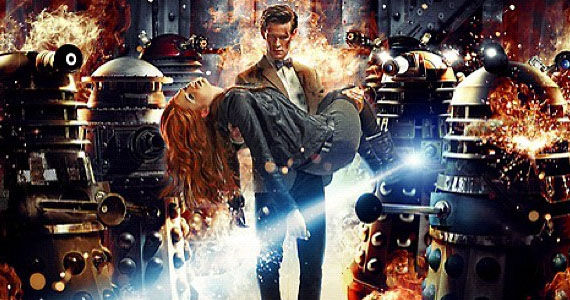 doctor who season 7 daleks amy Doctor Who Season 7 Trailer Revealed   Daleks, Dinosaurs and Times Square!