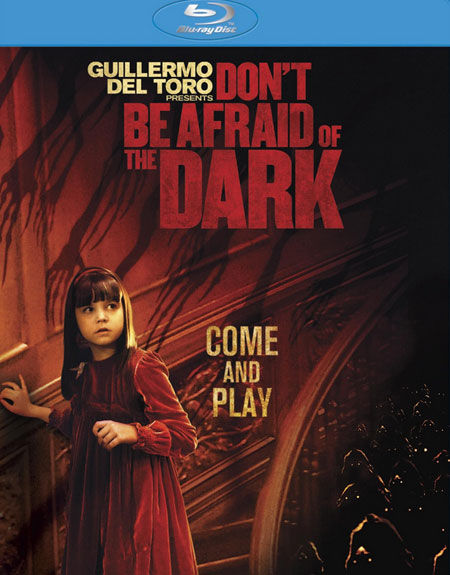 Don't Be Afraid of the Dark Blu-ray Cover