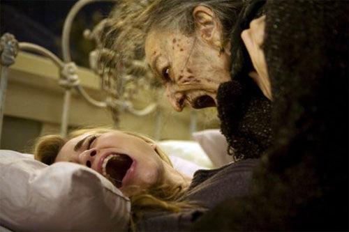 A scene from Sam Raimi\'s new horror movie Drag Me To Hell