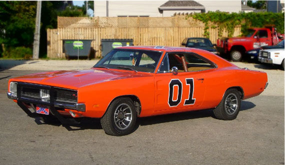 dukes of hazzard 25 Most Iconic Cars From TV & Movies