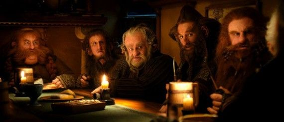 dwarfs hobbit movie 570x245 Bilbos Dwarf Companions in The Hobbit: An Unexpected Journey