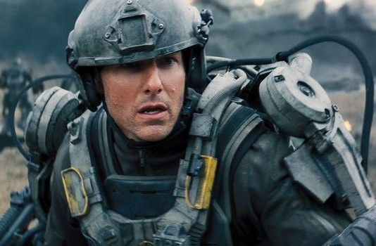 edge tomorrow tom cruise 534x350 Edge of Tomorrow Trailer: Tom Cruise Caught in a Time Loop Fighting Aliens