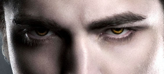 Edward\'s vampire eyes from Twilight