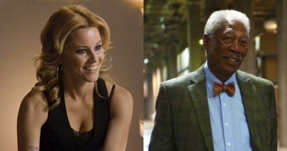 elizabeth banks morgan freeman lego Elizabeth Banks & Morgan Freeman Are Lending Their Voices to Lego