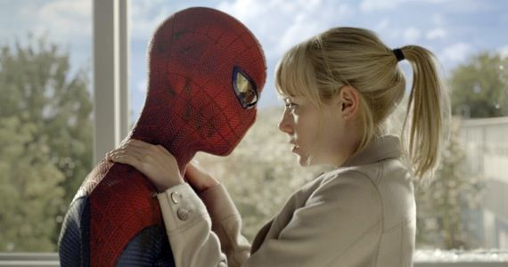 emma stone amazing spider man Amazing Spider Man 2 Set Photos Hint at Iconic Gwen Stacy Moment