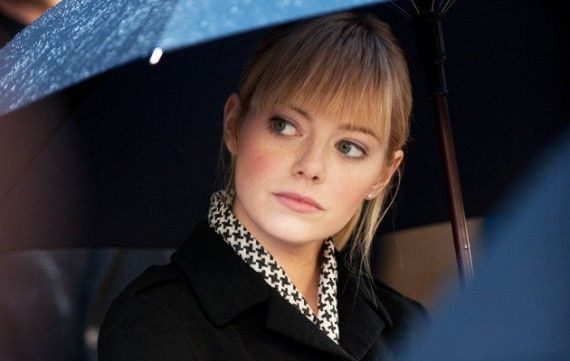 emma stone2 570x361 Emma Stone Teases Gwen Stacys Fate in The Amazing Spider Man 2