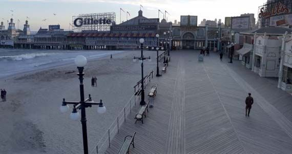 empire set shot Boardwalk Empire Special Effects Featurette Looks at Creating Old Atlantic City
