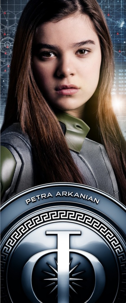 enderchar 002 427x1024 Enders Game Poster with Petra Arkanian