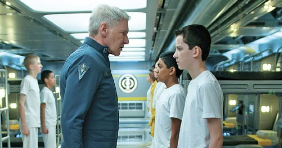 enders game interview image Harrison Ford Joins Expendables 3; Still Open to Returning for Indiana Jones 5