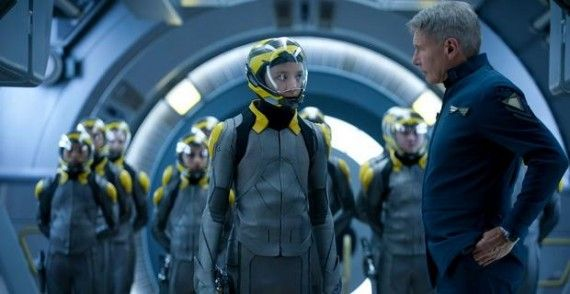enders game movie ender harrison ford 570x294 Lionsgate Undecided On Enders Game Sequel