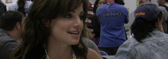 erica durance smallville Comic Con 2010: Interviews With The Cast & Producers Of Smallville