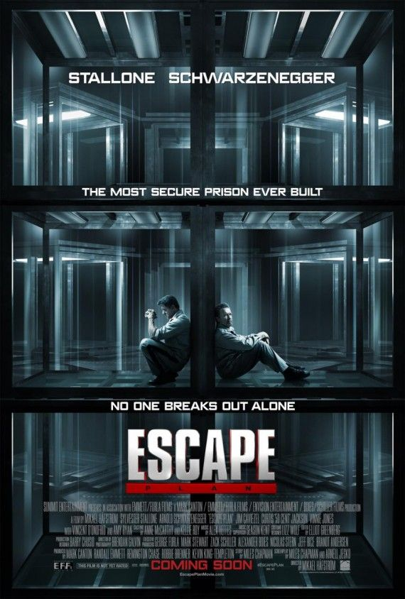 escape plan poster 570x844 Escape Plan Poster