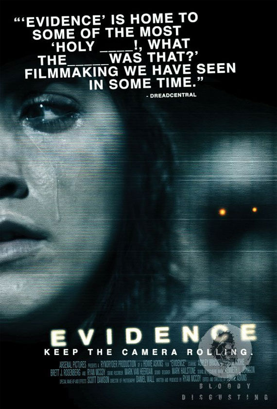 evidence poster Movie Poster Roundup: Conan the Barbarian, Real Steel & More