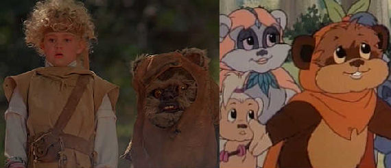 ewoks movie cartoon Movies & TV Shows Geeks Pretend Dont Exist