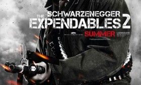 expendables 2 arnold schwarzenegger poster 280x170 Expendables 2 Character Posters: Meet the New Dirty Dozen