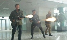 expendables 2 arnold sly bruce 280x170 Summer Movie Images & Posters: G.I. Joe 2, Expendables 2, MIB3, Spider Man & Snow White