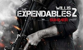 expendables 2 bruce willis poster 280x170 Expendables 2 Character Posters: Meet the New Dirty Dozen