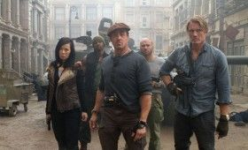 expendables 2 cast 280x170 Summer Movie Images & Posters: G.I. Joe 2, Expendables 2, MIB3, Spider Man & Snow White