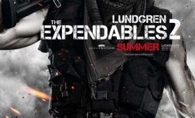 expendables 2 dolph lundgren poster 280x170 Expendables 2 Character Posters: Meet the New Dirty Dozen