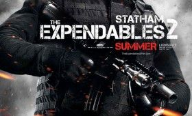 expendables 2 jason statham poster 280x170 Expendables 2 Character Posters: Meet the New Dirty Dozen