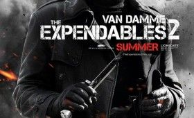 expendables 2 jean claude van damme poster 280x170 Expendables 2 Character Posters: Meet the New Dirty Dozen