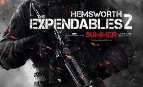 expendables 2 liam hemsworth poster 280x170 Expendables 2 Character Posters: Meet the New Dirty Dozen